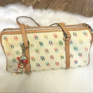 Dooney & Bourke multicolored monogram purse